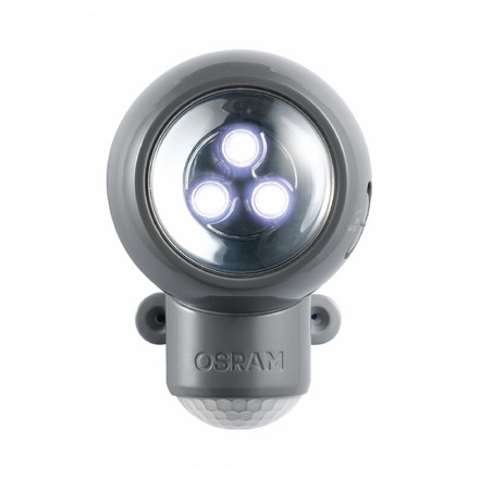 Osram Spylux LED Multi-function Lamp, grey