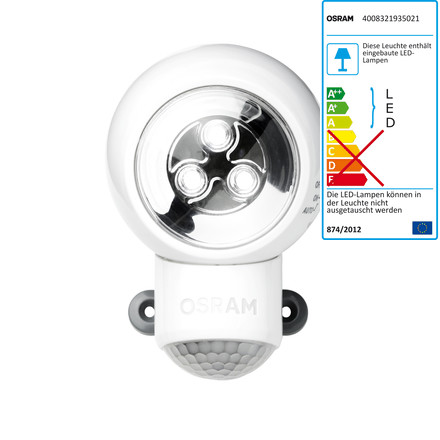 Osram Spylux LED Multi-function Lamp, white