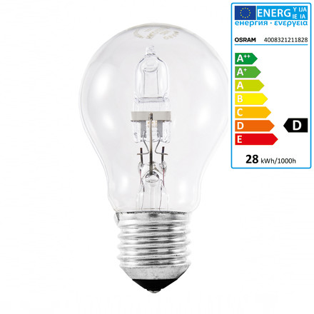 Single image: Halogen-Bulb Classic A Eco - E27