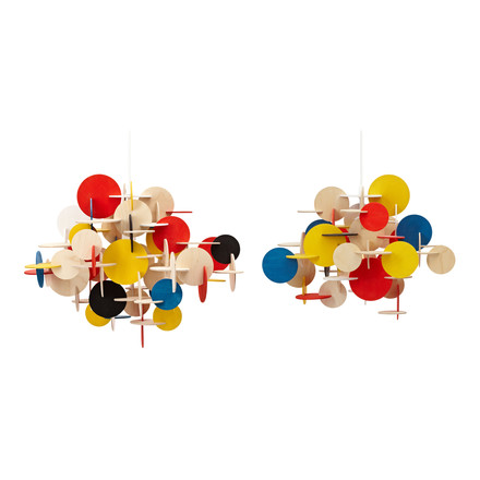Normann Copenhagen - Bau Pendant Lamp, multicoloured