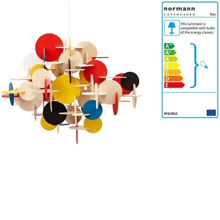 Single image: Bau Pendant Lamp, large