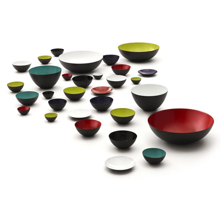 different colours and sizes of the Krenit Bowls