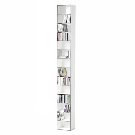Wogg 25 CD-shelf, 26x15cm, white