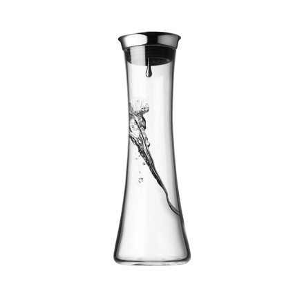 Menu - Water carafe with stainless steel lid, 0.8 l