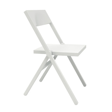 Single image: Piana folding chair, white