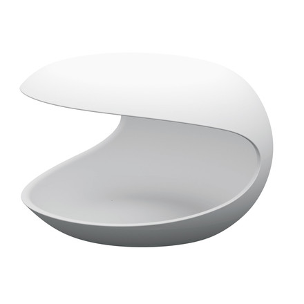 Single image: White Shell Side Table