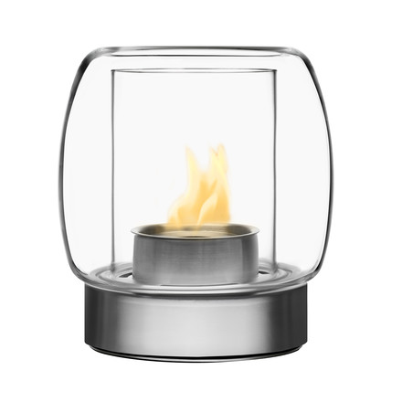 Single image: Kaasa Fireplace, 225 mm, transparent