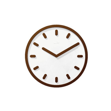 Single image: Tempo Wall clock, brown