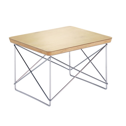 Vitra - Eames Occasional Table LTR, leaf gold