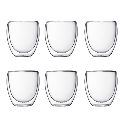 Bodum - Pavina, 0.25 l (set of 6)