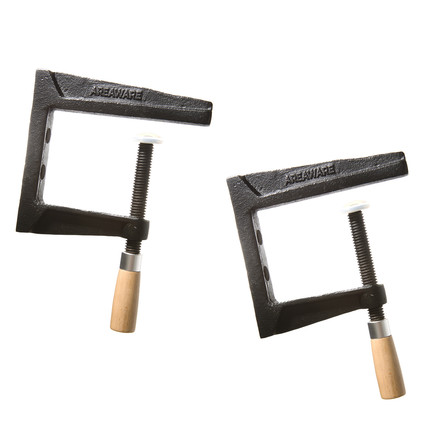 areaware - Wall Clamp shelf as a set of 2