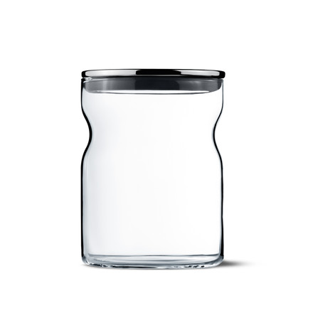 Georg Jensen - Alfredo Glass Container with lid 750 ml