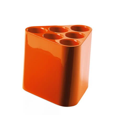 Poppins Umbrella Stand, orange