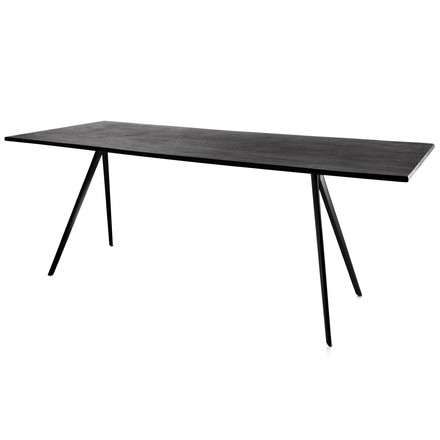 Magis - Baguette Table - black / black