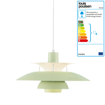 Louis Poulsen - PH 50 Pendant Lamp, wasabi green