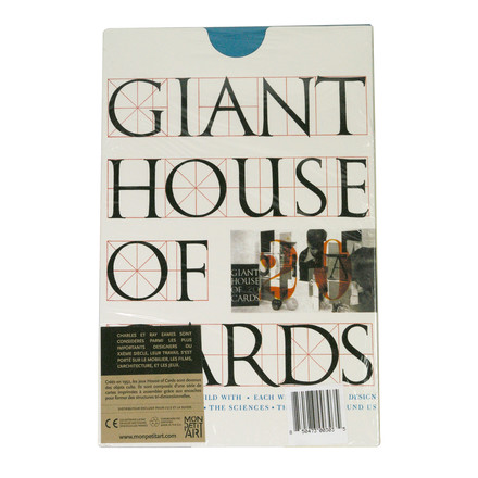 eamesoffice - Giant House of Cards - 20 cards