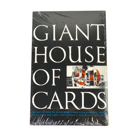 Giant House of Cards - 20 Cards