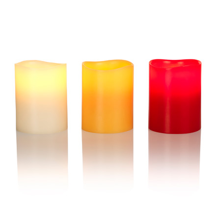 LED Real Wax Candle M