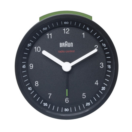 Braun Radio-Controlled Alarm Clock BNC007, black