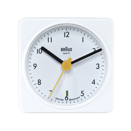 Traveling Alarm Clock BNC002 (AB1), white - single image