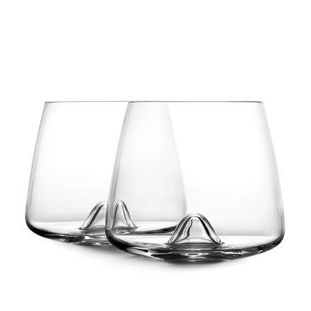 Normann Copenhagen - Whisky Glass, diagonally in front of each other