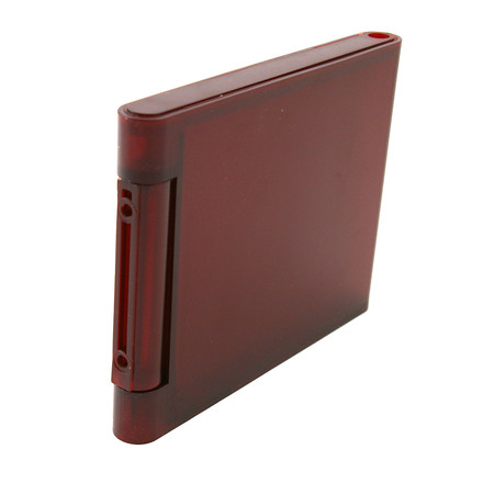Kartell - Spare book-stop for Bookworm, (C8 / wine red)