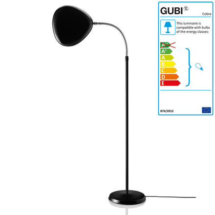 Cobra Floor Lamp GM3 - turned