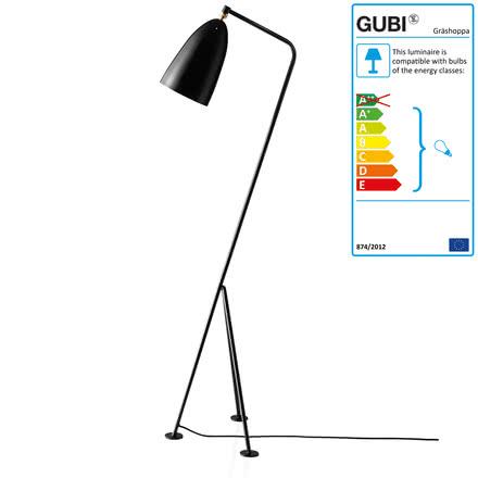 Gubi - Gräshoppa Floor Lamp GM1