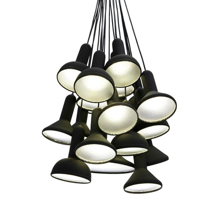 Established & Sons - Torch Light pendant lamp, black