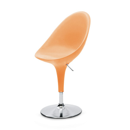 Bombo Chair - height adjustable, orange