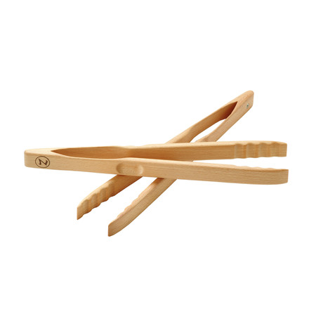 OZ-Goods - Grill- and kitchen tongs Gretchen - beech wood, 30 cm