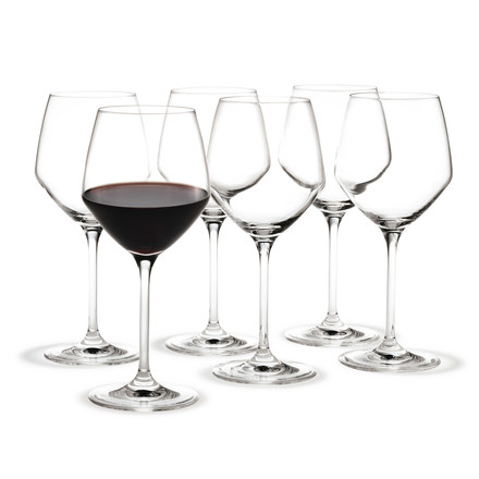 Holmegaard - Perfection Stemware - Red Wine Glass 50cl, group