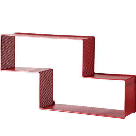 Gubi - Dedal Bookshelf, red