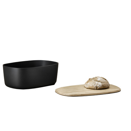 Rig-Tig - bread box - black