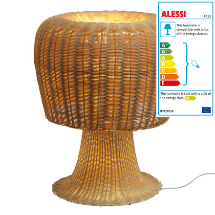 Alessi - Amanita Lamp, switched on