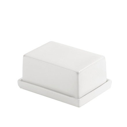 Authentics - Smart butter box - small, white