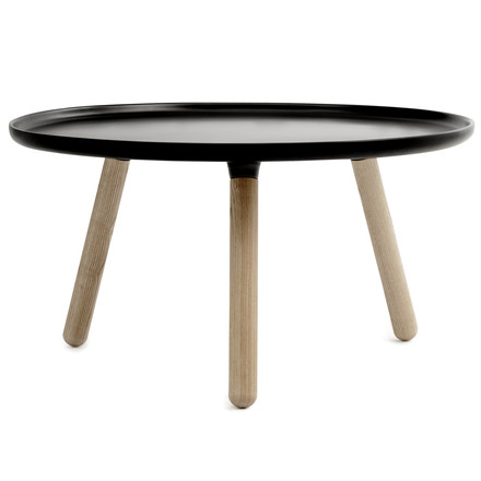 Tablo Table Ø 78 cm, black
