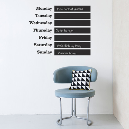 ferm Living - Wall sticker This Week, atmosphere image