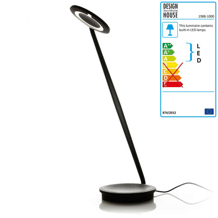 Design House Stockholm - Pixo lamp, black, single image