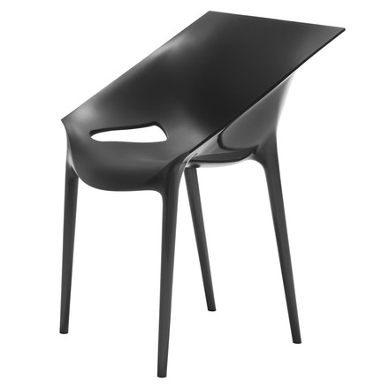 Kartell - Dr. Yes chair, black, single image