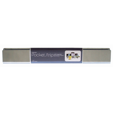ThreeByThree - Pocket Strip Organizer, silver, single image
