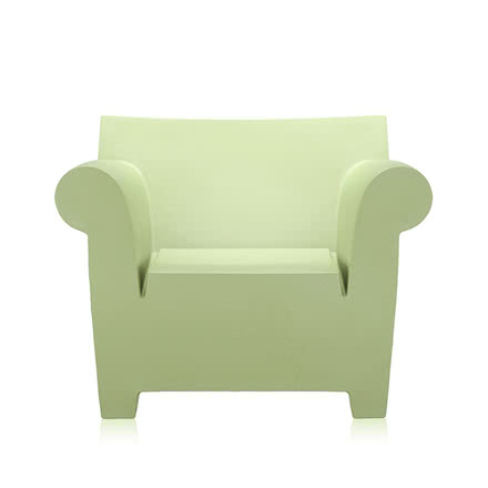 Kartell - Bubble Club Chair - Light Green, single image