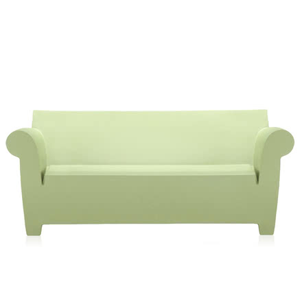 Bubble club sofa light green, single image