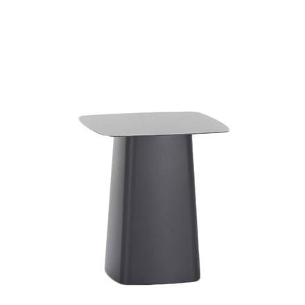 Vitra - Metal Side Table outdoor, small, black, single image