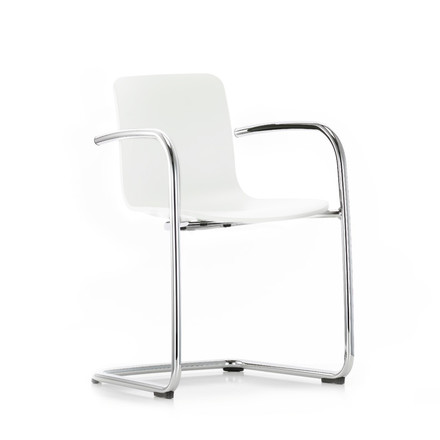 Vitra - Hal cantilever with arms, white