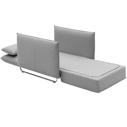 Softline - cord sofa chair, vision light grey (445)