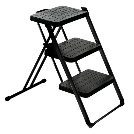 Magis - Nuova step ladder, powder coated inblack