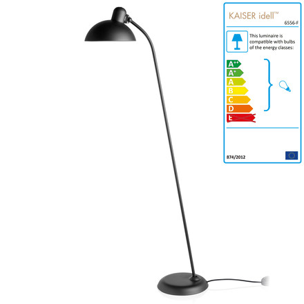 KAISER idell - Floor Lamp 6556-F, single image