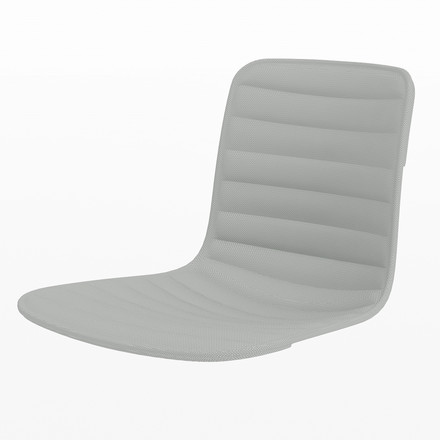 Vitra - Hal Ply seat cover, black / stone