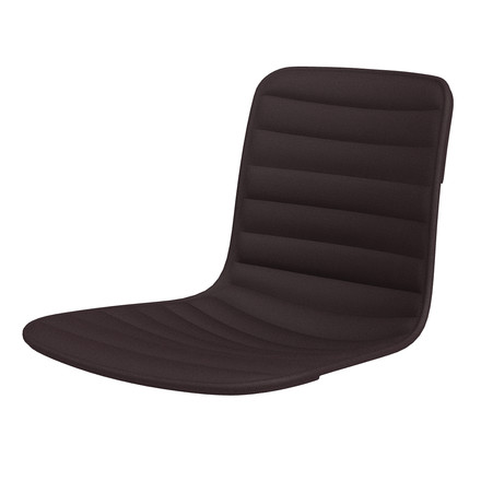 Vitra - Hal Ply seat cover, brown